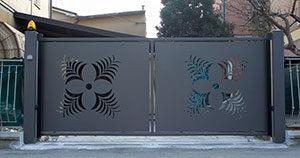 Misure Standard Cancello A Due Ante.Cancelli Ferro E Cancelletti Sicurezza A Modena E Provincia Allu