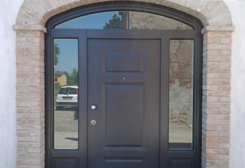 Porte blindate e portoncini di sicurezza modena e provincia allu fer idea - Porta finestra blindata ...